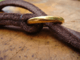 Claytons & Brushed Leather Slip Lead